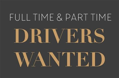 Full and Part Time Chauffeurs Wanted - Crown Executive Cars
