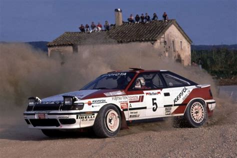 Toyota Celica GT-Four is the Most Successful Japanese