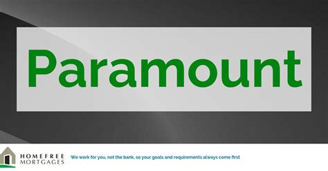 Homefree Mortgages: Our Panel of Lenders: Paramount