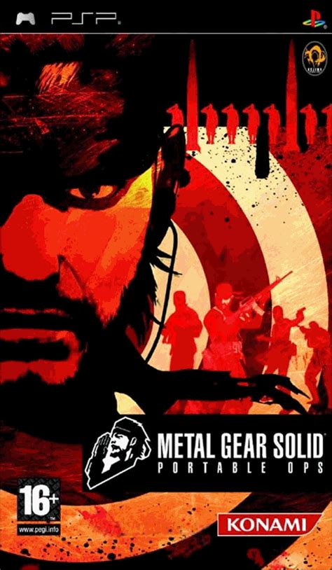 Metal Gear Solid: Portable Ops – Wikipedia