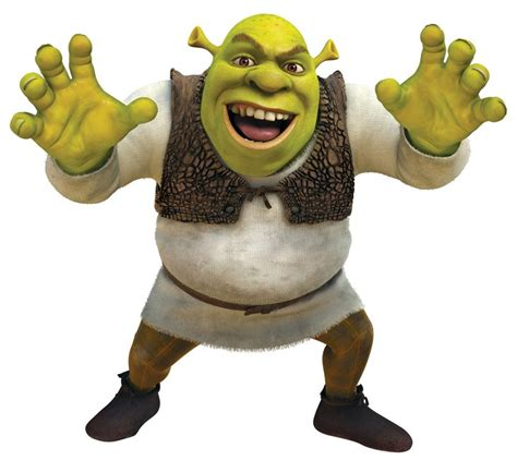 Shrek --- is a fictional character from the children's