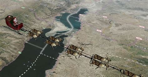 NORAD Santa Tracker 2017 LIVE: Find out where Father