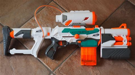 NERF Modulus Tri-Strike Review   Trusted Reviews