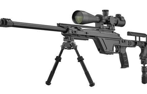 CZ TSR, a sniper rifle for armed forces and long range