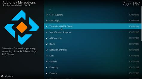 Kodi 18 'Leia' will come with fewer features installed