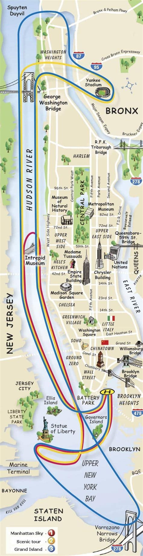 New York Helicopter Tour Routes - NewYorkCity