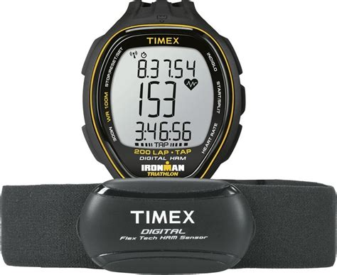 TIMEX T5K726 - Ironman Target Trainer HRM with TAP