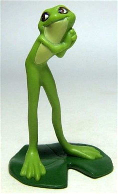 Princess Tiana as a frog PVC figure from our PVCs