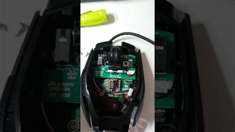 Repair Corsair m65 gaming mouse of middle click button