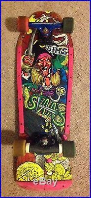 SIMS Kevin Staab Pirate Skateboard complete withTracker