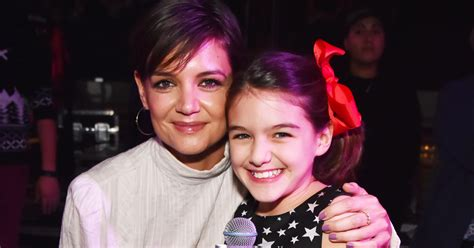Katie Holmes Rings In The New Year With Daughter Suri