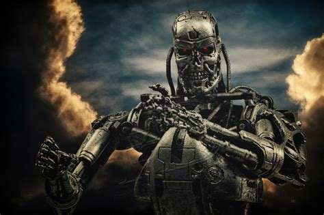 Terminator, 500px Wallpapers HD / Desktop and Mobile