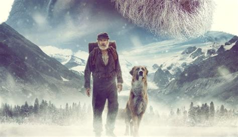Harrison Ford and a dog star in The Call Of The Wild
