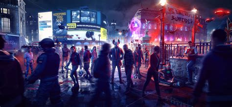 Wallpaper Watch Dogs: Legion, 2020 Games, Xbox One