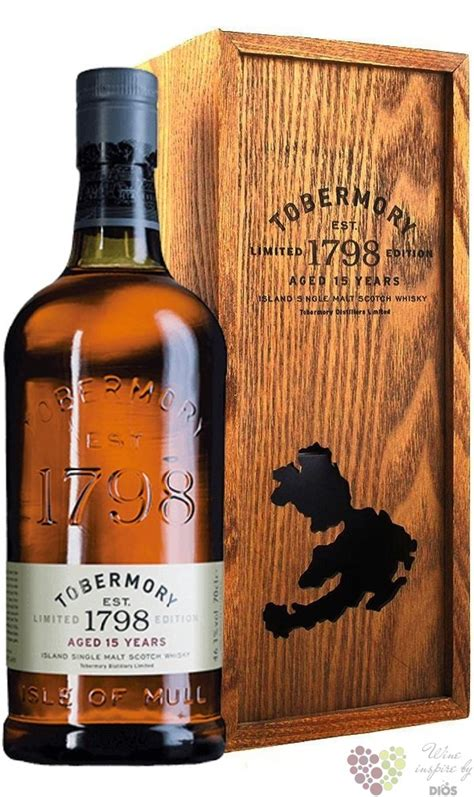 """Tobermory 1798 """" Limited Edition """" aged 15 years single"""