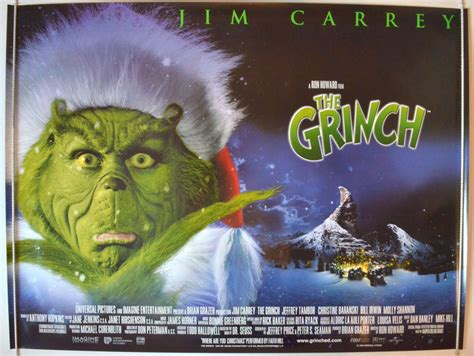 Grinch (The) - Original Cinema Movie Poster From