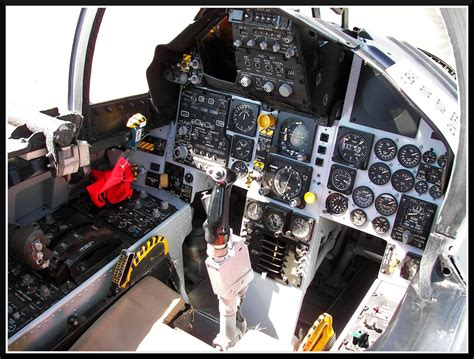 F-15A Eagle Cockpit | Cockpit of an F-15A Eagle fighter