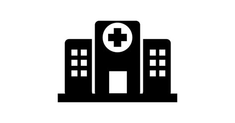 Hospital buildings - Free medical icons