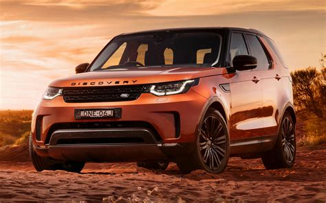 2017 Land Rover Discovery First Edition (AU) - Wallpapers