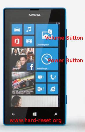 How to Safely Master Reset Nokia Lumia 520 with Easy Hard