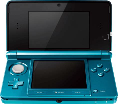 Nintendo 3DS Console - Aqua Blue (3DS)(Pwned)   Buy from