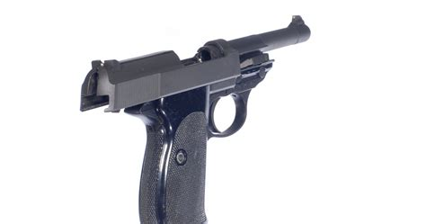 Pistole P1 Walther Ulm 9 mm Luger - č
