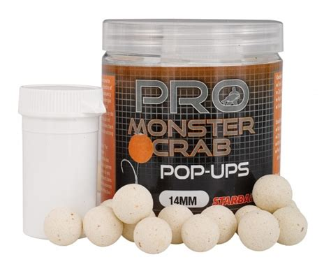 Plovoucí boilies STARBAITS Probiotic Monster Crab 80g 🎣 Na